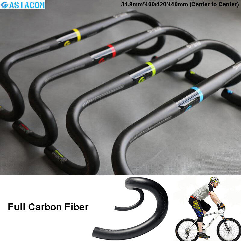 ASIACOM Autobon Fiber Road Bike Handlebar Drop Bar Ultraight 31.8400 420 440mm