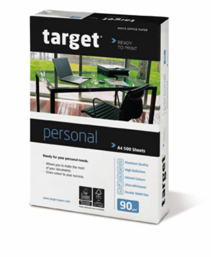 Target Personal Kopierpapier 80 90 100 110 160g//m² DIN-A4 A3 Druckerpapier weiß