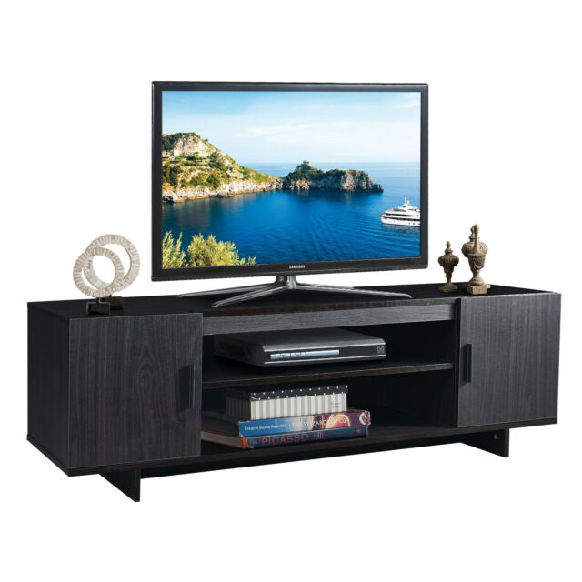 Tv Stand Media Center Entertainment, Tv Stand Media Storage Cabinet