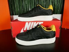 Nike Air Force 1 Af1 '07 LX Black Yellow Ochre Womens Shoes