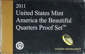 2011-U-S-Mint-CLAD-America-the-Beautiful-Quarters-Proof-Set