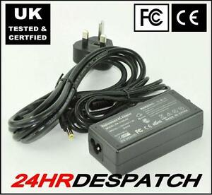 GATEWAY-LAPTOP-ADAPTER-CHARGER-PSU-65W-3-5A-19V-PSU-NEW-WITH-LEAD