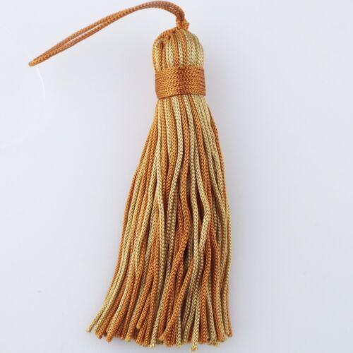 36 COLOUR 9cm Rayon Key Tassel Cushion Shiny Silky Costume Cushion Buy 1 2 4 8
