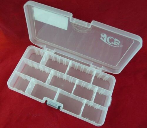 JCB18D Plastikbox Angelbox Köderbox zubehörbox Hakenbox TACKLEBOX
