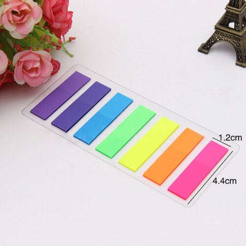 Rectangle Sticky Note Tabs Colored Page Markers Index Tabs Flags 840//1200 PCS