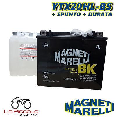 MMX20L BATTERIA MAGNETI MARELLI YTX20L-BS HARLEY FLD Dyna Switchback 1690 2013