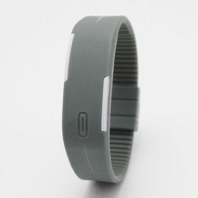 Touch Screen LED Digital Silicone Sport Wrist Watch Men Women Bracelet Watch