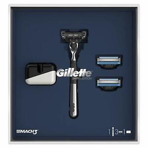 Gillette-Mach3-Limited-Edition-Razor-Gift-Set-Mens-Birthday-Gift