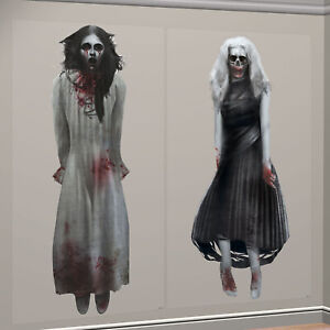 Spooky-Gothic-Halloween-Zombie-Ghost-Girls-Scene-Setter-Add-Ons-Wall-Decorations