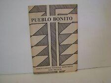 Chaco Culture Booklet Pueblo Bonito Pueblo del Arroyo Casa Rinconada  NEW MEXICO