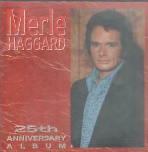 MERLE HAGGARD 25th Anniversary Album CD Germany Capitol 1988 20 Track West