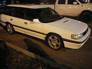 1990 JDM Subaru Legacy GT Turbo