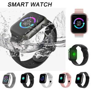 Montre-intelligente-etanche-Fitness-Tracker-Frequence-cardiaque-pression-arte-LB