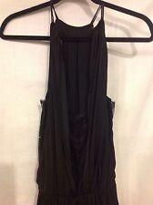 ZARA Basic Dress Maxi Extra Long Sleeveless Extra Small- Small NWOT!