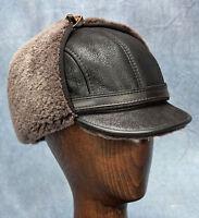 Elmer Fudd Hat (brown) - 100% Sheepskin By Northern Hats (sku: 18k-brn)