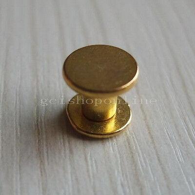5 10 20 50 Head Button Stud Screwback Leather Belt Chicago Screw nail rivet 10mm