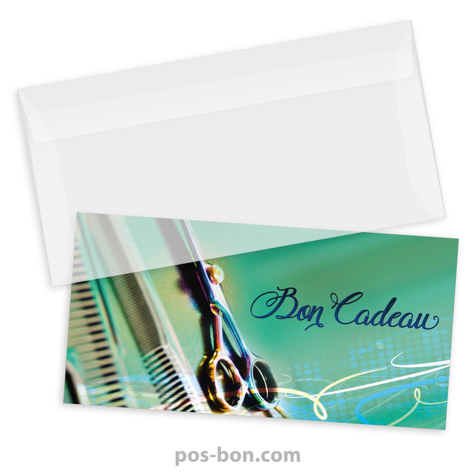 Bons cadeaux  enveloppes pour coiffeurs K9286F    Feinen Qualität    Vielfältiges neues Design