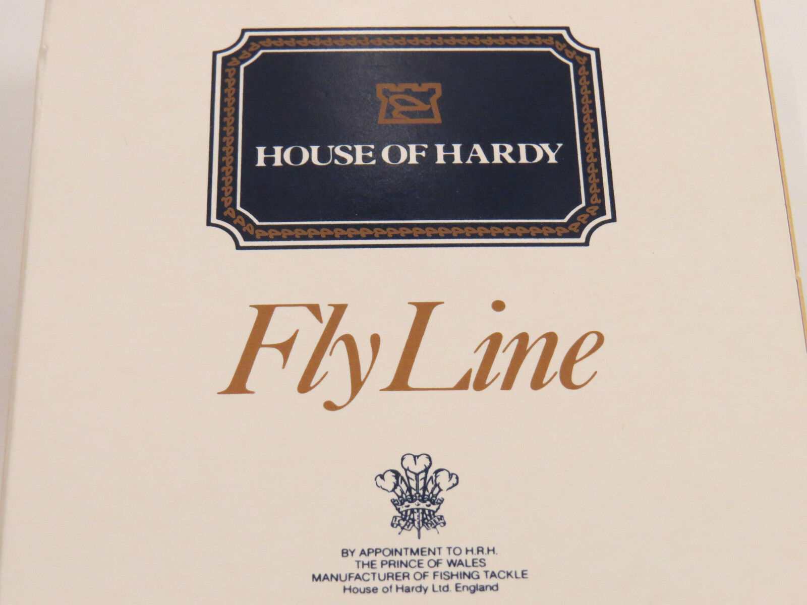 House of Hardy Hardy Flyline Ultralite Clear Clear Clear SINKING dt9 27m 1572be