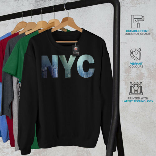 NYC Photo New York USA Men Sweatshirt NEWWellcoda