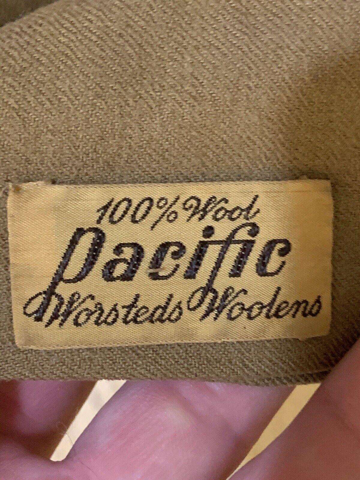 Vintage 1940's 1950'z Worsted Wool Scarf VINTAGE - image 1