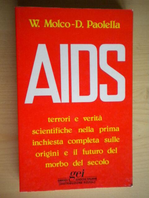 AIDSMolco, PaolellaGEI1985salute malattia scienza inchiesta 207 libro nuovo