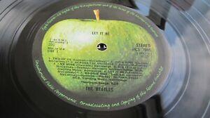 BEATLES - LET IT BE 1970 UK BOX SET PXS 1 -2U COMPLETE  SUPERB CONDITION LISTEN