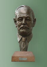 CC Bronze bust of Sir Arthur Conan Doyle. Edition of 100. Signed certificate