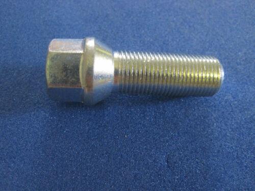 10 SCHWARZ Radmutter Mutter M14x1,5x34 SW19 Kegelbund Kegel 60/° Alu Stahl Felgen