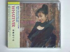 "New Megumi Hayashibara - ""Whatever"" J-Pop Song Music CD Album 15-Track OBI Strip"