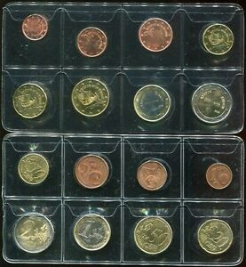 CYPRUS-SET-8-COIN-1-2-5-10-20-50-CENT-1-2-EURO-2008-AUNC-SEE-SCAN