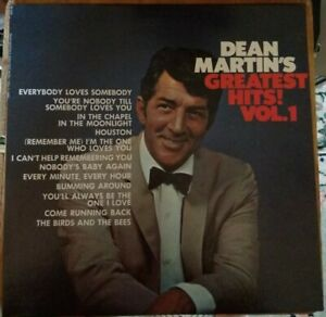 Dean-Martin-039-s-Greatest-Hits-Vol-1-LP-Reprise-1968-RS-6301-Indianapolis-pressing