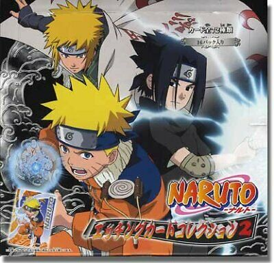 "Naruto Shippuden Card Game Series 08 Booster Box /""15 Booster per box/"""