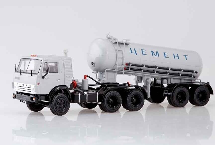 Kamaz 54112 semi - grúa TC - 11 cemento ssm7034 1  43