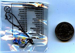 Froakie-Pokemon-League-Keychain-or-Cell-Phone-Charm-Season-3-Factory-Sealed