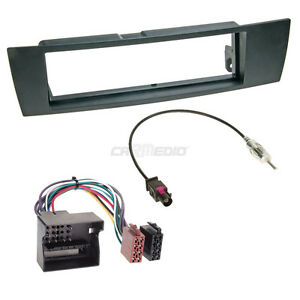 BMW-3er-E91-05-12-1-DIN-Radio-Set-Adapter-Cable-Radio-Faceplate