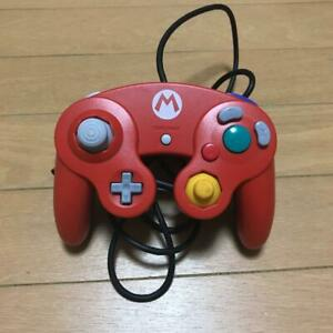 Limited-Mario-Controller-Club-Nintendo-Official-RED-Wii-JAPAN-Gamecube-Retro