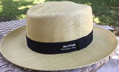Medium The Original Panama Jack Matte Toyo Straw Sun Safari Hat