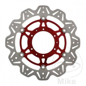 Brake-Disc-Front-EBC-Vee-Rotor-Red-VR1171RED