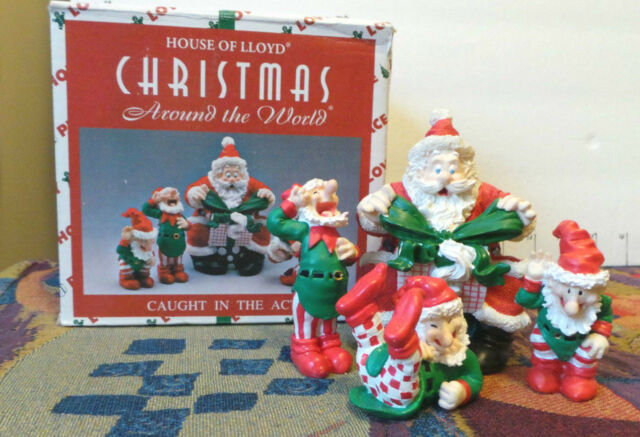 """Santa & 3 Elves, House of Lloyd """"Around The World"""", """"Caught In The Act"""" 1997"""
