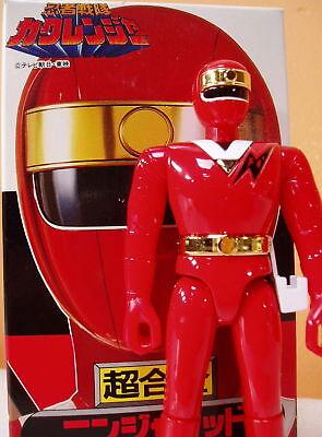 Kaku Ranger Ninja Sentai Rot Kakuranger Bandai 1994 Chogokin Tiere Obligatorisch Neuwertig Figuren