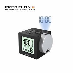 Precision-Radio-Controlled-Projection-Digital-Alarm-Clock-Multi-Colour-View