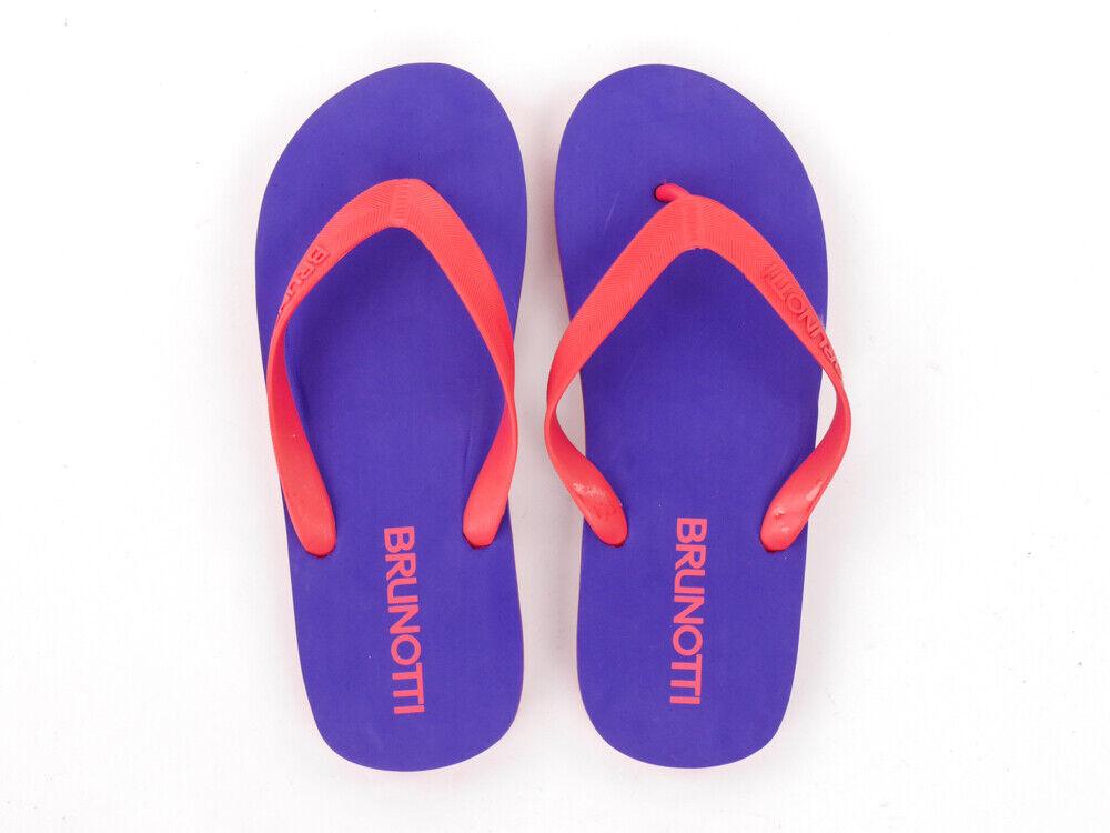 Brunotti Flip Flops Sandals Slippers viola Eeki Eva -Sole Logo   garantito