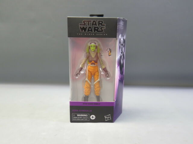 "Star Wars 6"" Black Series Rebels Hera Sendulla Action Figure NIB"