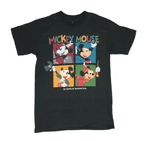 Disney-Men-039-s-T-Shirt-Mickey-Mouse-Steamboat-Captain-Fantasia-Disneyland-Tee