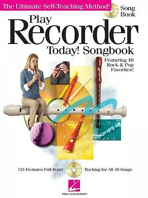 Latest Collection Of Play Recorder Today Songbook The Ultimate Self-teaching Method Instruc 000701245 Refreshment Musical Instruments & Gear