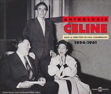 LOUIS-FERDINAND C'LINE - ANTHOLOGIE CELINE: 1894-1961 NEW CD