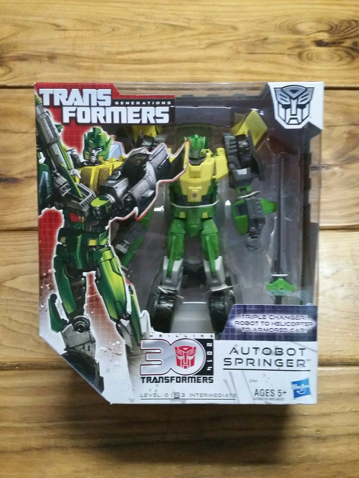 Transformers Generations 30th Autobot Springer 2014 New Sealed Series 02