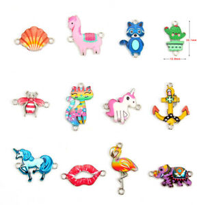 10X-email-Ancre-elephant-connecteur-Charm-Beads-Fit-A-faire-soi-meme-Adulte-Enfant-Bijoux-Cadeau