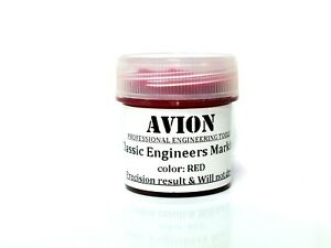 Engineers-Marking-Red-Classic-Pigments-Compound-Scraping-Paint-Hi-Spot-1-Oz