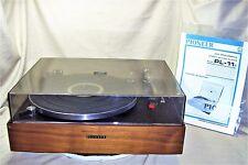 Pioneer PL-11F High Performance Turntable Idler Driven Vintage 1968-71 EXC 5397